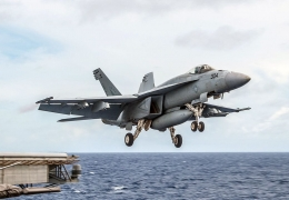 US Navy F/A-18 Hornet crashes in Philippine sea