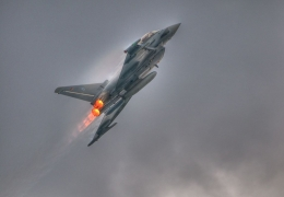 Two German Eurofighter jets collide in training, one pilot dead