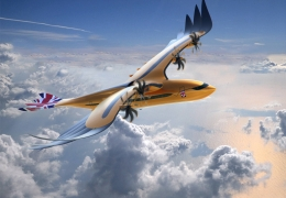 "Airbus` new eagle-inspired sustainable ""Bird of Prey"""