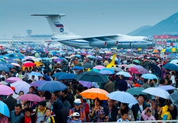 The national-level China Airshow is confirmed to postpone