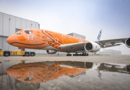Third and last ANA A380 takes off for maiden flight