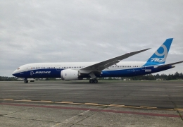 Egypt Air's new 787 Dreamliner makes greener journey home