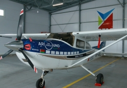 First ever Belarusian round-the-world flight on Cessna 182T