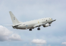UK's first P-8A Poseidon makes maiden flight