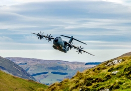 Airbus A400M gained certification for Automatic Low Level Flight
