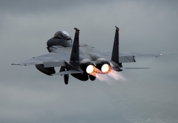 USAF F-15 Eagle fighter jets take over Iceland airspace defense
