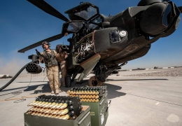 AH-64 rearming and refueling AeroTime News