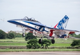 AIDC T-5 Brave Eagle performs its maiden flight