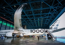 Airbus A350-1000 increased seating capacity to rival Boeing 777X