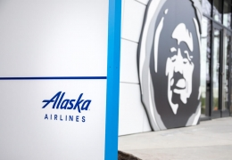 Alaska Airlines corporate headquarters at Seattle Tacoma Internat
