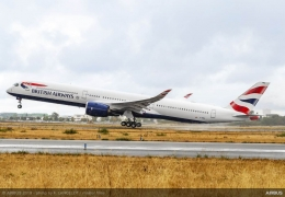 British Airways A350-1000 damaged by Airbus