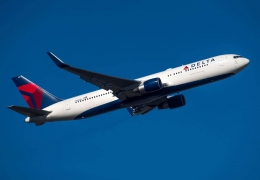 Delta Air Lines Boeing 767-300 drops evacuation slide mid-flight, ends up in front yard