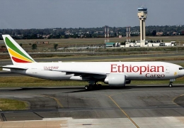 Ethiopian Boeing 777F intercepted over Indonesia, forced to land