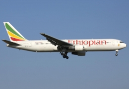 Ethiopian Airlines Boeing 767 catches fire; lands safely in Dakar