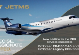 JetMS adds Embraer ERJ135/145 and Legacy 600/650