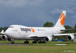 B747-400F nose-loader liveried and operational on Magma Aviation