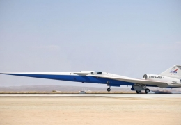NASA X-59 QueSST low boom supersonic cleared for final assembly