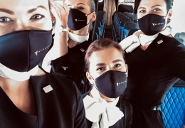 KlasJet continue operations while following strict hygiene rules