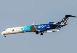 Nordica LOT Polish Airlines ES-ACC