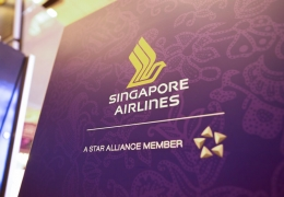 Singapore Airlines, a Star Alliance Member, logo