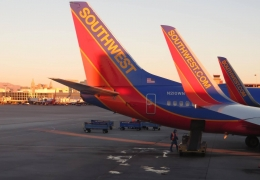 Southwest deems armrests as low-touch areas