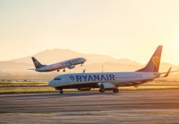 Ryanair Boeing 737 aircraft at sunset aerotime aviation news