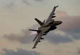 US Navy F/A-18 Super Hornet crashes during training in California