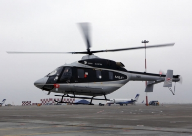 Russian Helicopters test Ansat in Pakistan