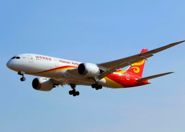 China makes first cross-ocean biofuel flight