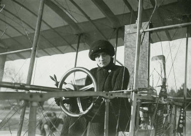 History hour: the 1st female pilot takes to the skies