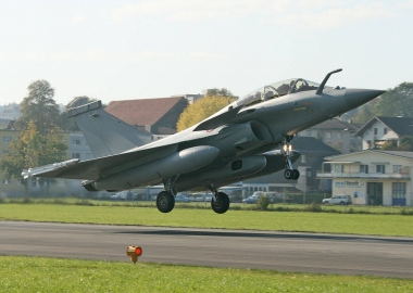 Civilian passenger gets unexpectedly ejected from Rafale B jet