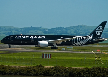 Air New Zealand plane takes off from Auckland, lands in scandal
