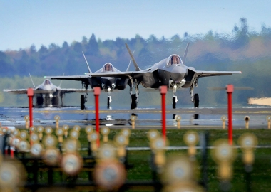 USAF launches construction of first permanent F-35 base in Europe