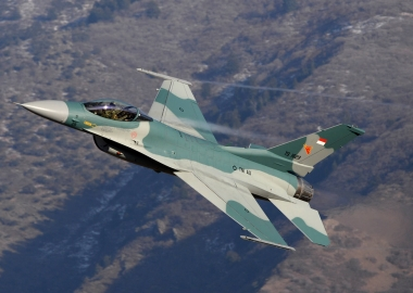 Indonesian fighter jets to serve as an alarm clock