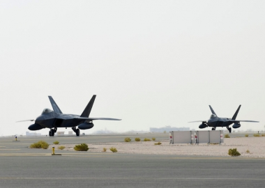 USAF deploys F-22 stealth jet in Qatar for the first time