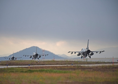 Third USAF F-16 crash in less than two months