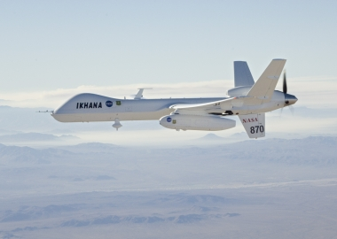 "First ""free"" flight in national airspace for NASA Ikhana drone"