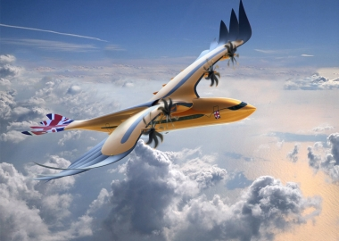 "Airbus' new eagle-inspired sustainable ""Bird of Prey"""