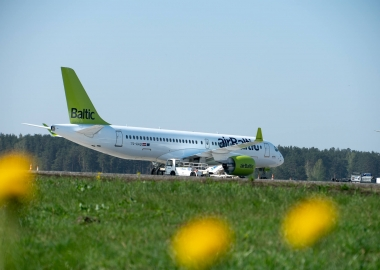 Already 17th Airbus A220-300 reaches airBaltic
