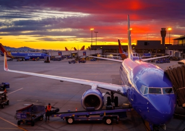 Southwest Airlines Boeing 737 airplanes prepare for their next fl