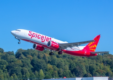 SpiceJet receives first Boeing 737 MAX 8