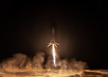 Space X launches SAOCOM 1A satellite, recovers 1st stage [video]