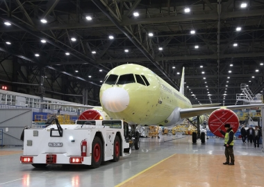 Irkut completes assembly of fourth MC-21 test prototype