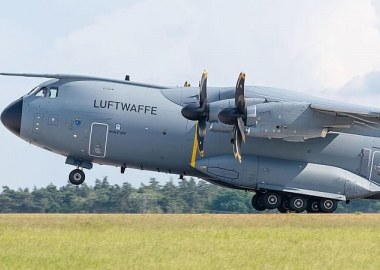 German A400M evacuates two French coronavirus patients