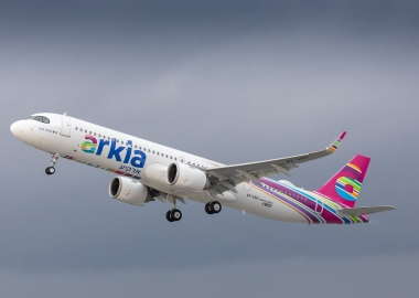 Airbus delivers special A321LR to launch customer