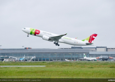 First TAP's A330-900neo completes maiden flight