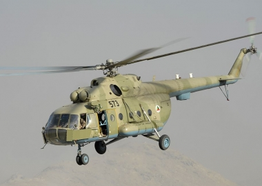 Helicopter crash in Afghanistan kills 25 people on board