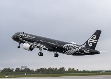 Air New Zealand receives first A321neo