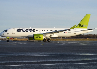 airBaltic orders 30 Bombardier CS300s with 30 more as option