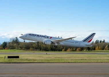 Boeing, AerCap deliver Air France's First 787